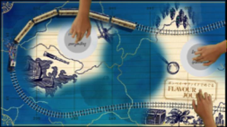 画像:10のボタニカル物語が展開されるデジタルインスタレーションのイメージカット