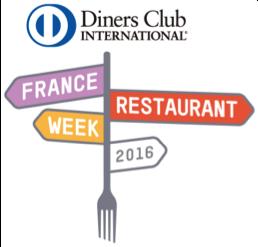 画像:ダイナースクラブ フランス レストランウィークのロゴ画像