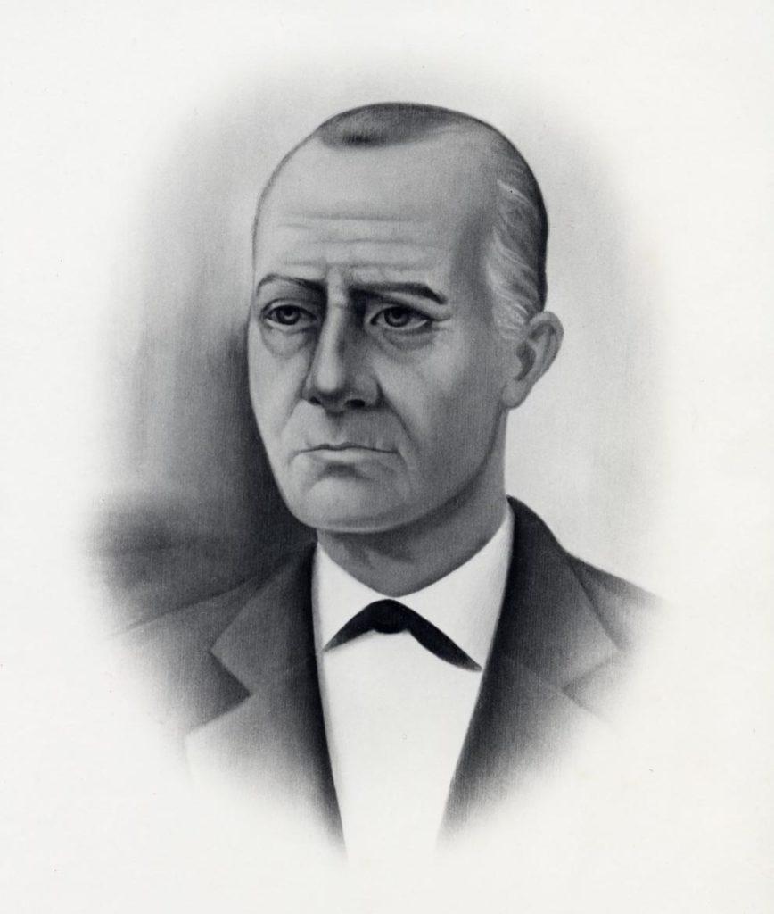 画像:創業者ドン・ファクンド・バカルディの肖像画