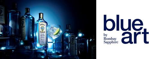 画像:「blue art」プロジェクトのロゴ画像