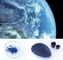 画像:「青」をテーマにしたイメージカット