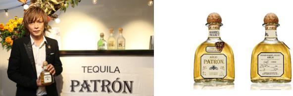 画像:INORAN氏と限定ボトルの写真